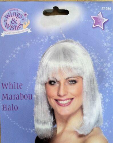 Smiffys Angel Marabou Halo Black or White