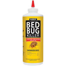 HARRIS HDE-8 EGG BED BUG Diatomaceous Earth Powder INSECT KILLER 8oz NEW!!
