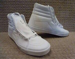 vans hombre blancas zapatos