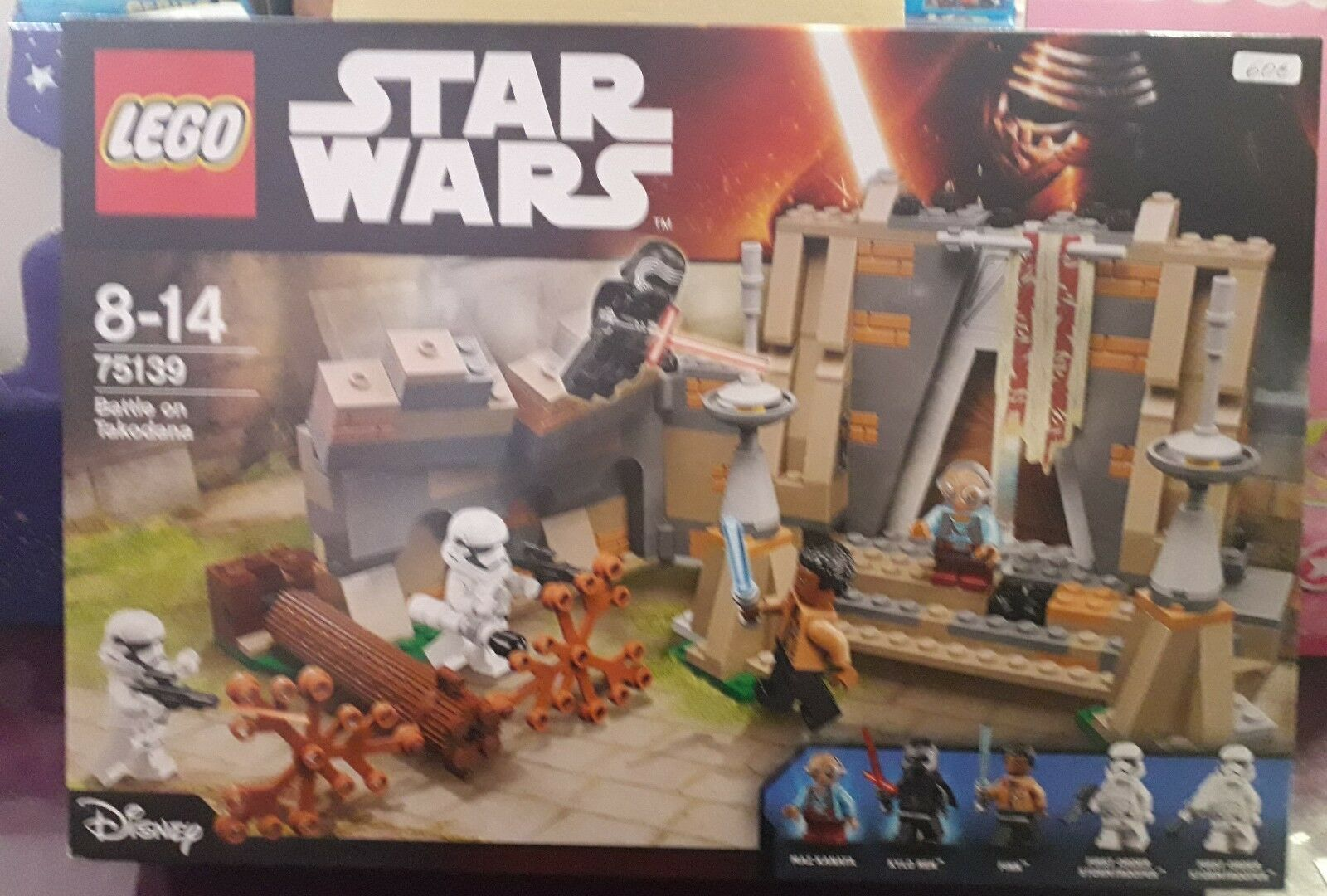LEGO Star Wars Set Battle on Takodana 75139 NUEVO