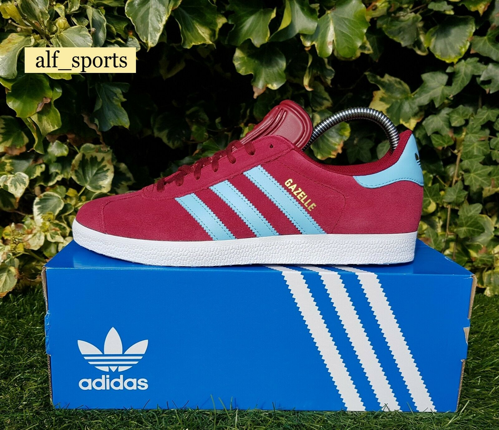 adidas Originals 350 Trainers Claret \u0026