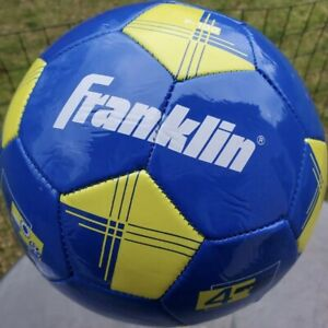 Franklin Chevrolet Blue /& White Yellow Youth Soccer Ball Size 4