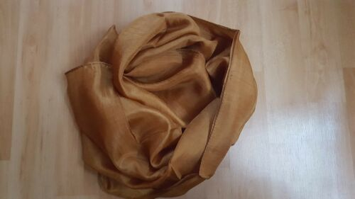 Women 100 /% Pure Silk Scarf Scarve Hijab Plain Soft Touch Wrap 45cm X 170cm