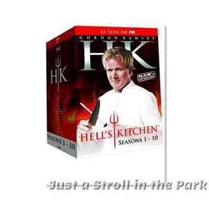 Gordon Ramsay Hells Kitchen Complete Seasons 1 10 Dvd Box