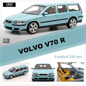 Limited-DNA-Collectibles-1-18-Scale-VOLVO-V70-R-Resin-Car-Model-Blue-Color