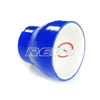 Blue 4 Layer Silicone Hose Straight Reducer 2.25 To 2.75 Inner Diamond