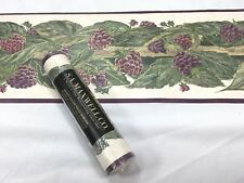 "Maxwell Wallpaper Border 9/"" Purple Iris 7166-420B Blue Red"
