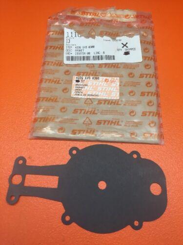 GENUINE STIHL HS72 HS76 GEAR HEAD GASKET 4226 649 0300 NEW OEM —B13