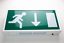 Pro-Elec LED Emergency Exit Sign Maintained Bulkhead Light 220-240Vac Wall