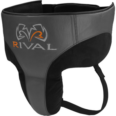 RIVAL RNFL10 RED BOXING GROIN PROTECTOR 360 GUARD