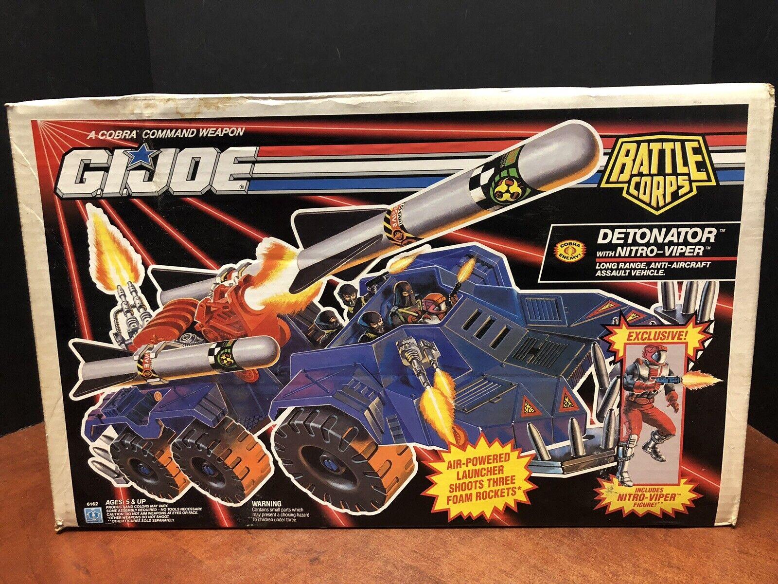 GI Joe  1992 Detonator With Nitro Viper Sealed scatola Dela0479  risparmia il 50% -75% di sconto
