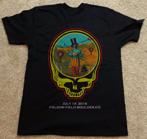Dead And /& Company July 14 2018 Folsom Field Boulder Co Shirt