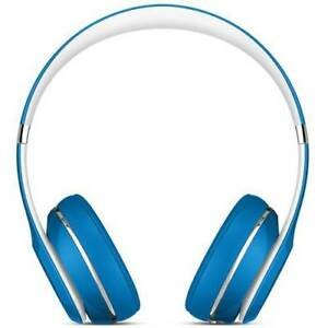 Beats by Dr. Dre Solo2 Blue Luxe Edition Wired On Ear Headphones ML9F2AM/A