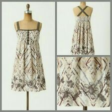 NWT Women's XS Anthropologie Sunny Forecast Chemise Dress by Eloise 100% Cotton