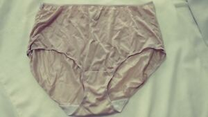 Briefs-Panties-Women-039-s-Size-13-Fit-for-Me-Plus-Size-Beige-blush-Z7
