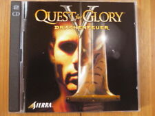 Quest for Glory V: Dragon Fire-  Drachenfeuer 2 DISC PC CD-ROM