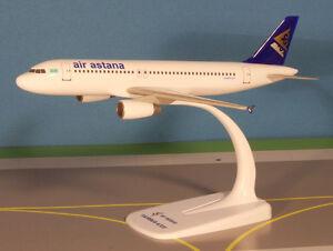 Air-Astana-Airbus-A320-200-1-200-FlugzeugModell-NEU-Kasachstan
