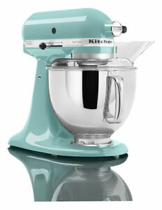 Image Is Loading Kitchenaid Martha Stewart Stand Mixer Ksm150psaq Blue  Artisan