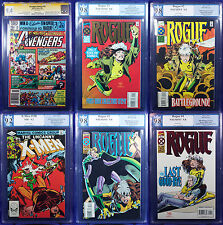 ROGUE ULTIMATE LOT: Avengers Annual #10 SS 9.4, X-men #158 9.2, Rogue #1-4 9.8!