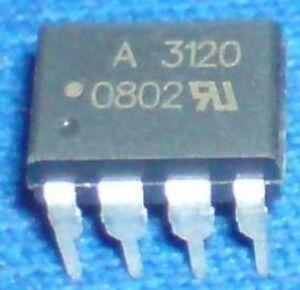 10 PCS HCPL-3140 DIP-8 HCPL3140 A3140 IGBT Gate Drive Optocoupler