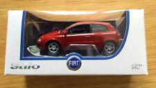 NOREV FIAT STILO YELLOW 3 DOOR 1:43 SCALE DIECAST MODEL CAR RARE NEW BOXED