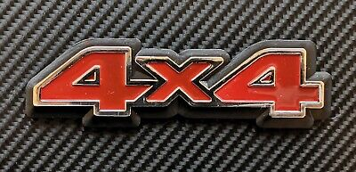"""REPRODUCTION/"""" 4x4/"""" Vauxhall//Opel badge"""