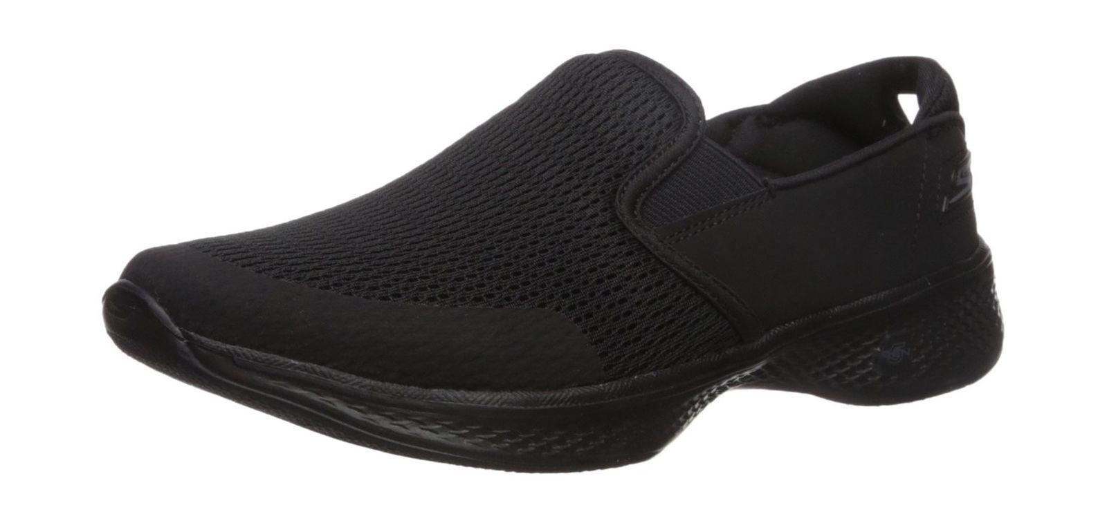 chaussures SKECHERS femmes RAGAZZA PERFORMANCE GO WALK 4 14927 noir BBK ATTUNED NEW