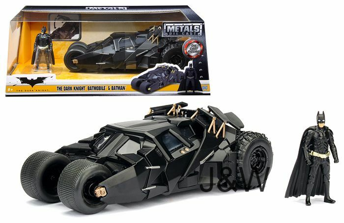 Jada Batmobile Dark Knight Tumbler with Batman figure 1/24 98261 for sale  online | eBay
