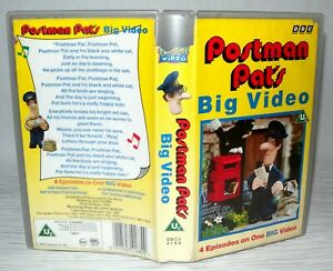 Postman-Pat-039-s-Big-Video-BBC-Children-039-s-VHS-Tape-amp-Case-VHS-The-Classics