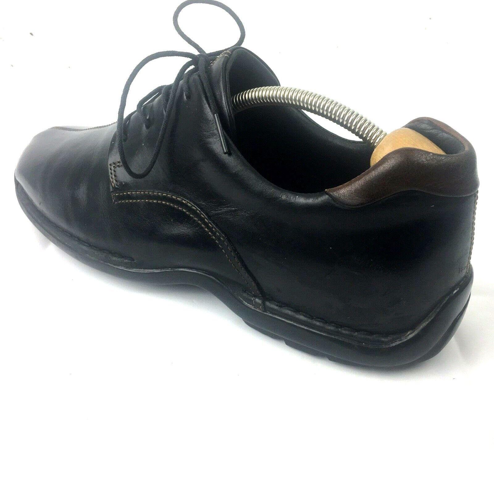 COLE HAAN Men's Dress Derby shoes Split Toe Leather Lace Italian Oxfords 12M