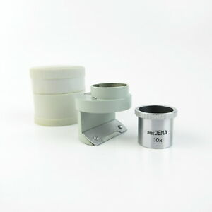 Export-aus-Jena-Messlupe-10x-Q1-10mm-measuring-magnifying-glass-Dose-case