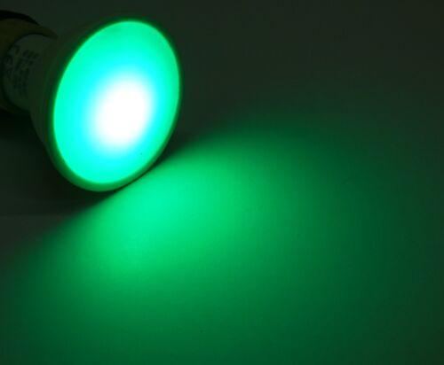 3x Led RGB Kaltweiss Gartenstrahler mit Timer Fernbed schwarz GU10 230Volt