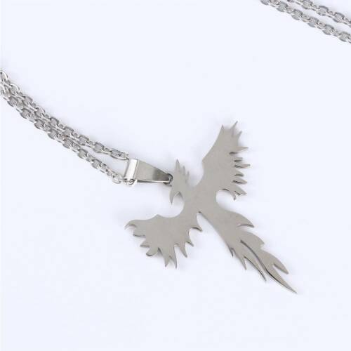Cool Jewelry Phoenix Stainless steel Necklace Animal Accessories CA