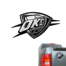 Oklahoma City Thunder Official NBA Silver Auto Emblem By Team Promark 040319