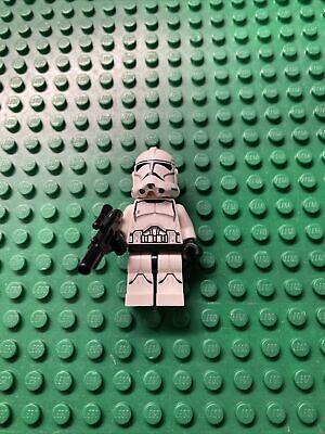 Lego Star Wars Minifigure Clone Trooper Phase 2 Printed Legs 75028 Turbo Tank!