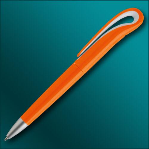 Druck Kugelschreiber Swan mit Ihrer Werbung Logo Druck 4-farbig Fotodruck