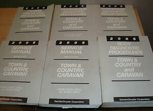 chrysler town country dodge caravan service manual