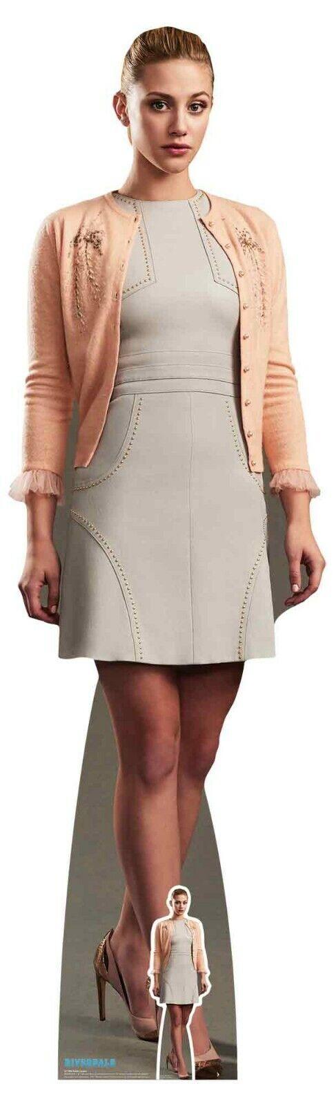 Betty Cooper von Riverdale Offiziell Lebensgröße und Mini Karton Ausschnitt
