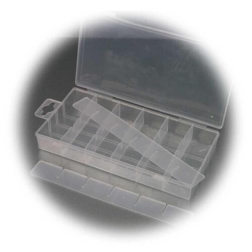 Kleinteilebox Sortierkasten Kleinteile-Sortierbox 210x110x30mm Sortimentskasten