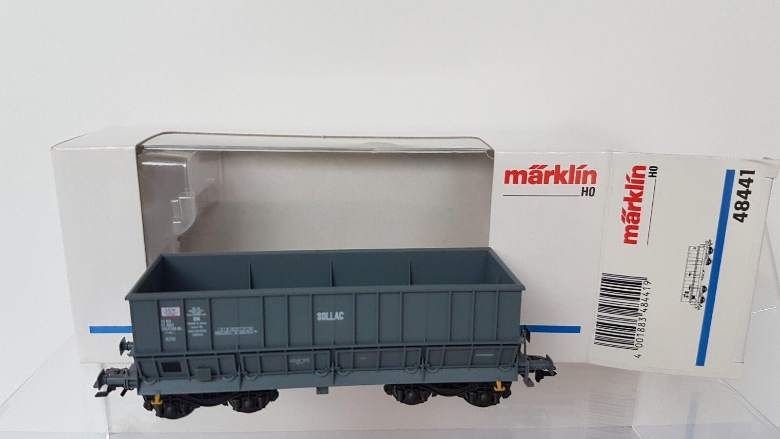 Märklin h0 48441 minerali-TRASPORTO-CARRELLO SOLLAC della nuovo SNCF OVP come nuovo della 7048b0
