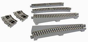 Kato-20286-N-Gauge-Unitrack-Turntable-Extension-Track-Curved-New