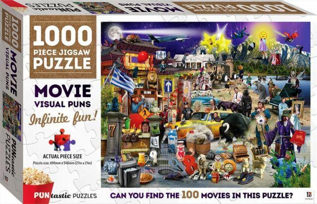 Puntastic Puzzles: Movies 1000-piece Puzzle