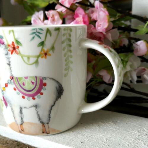 Lama Alpaka Kaffeetasse Lamafigur Kaktus 370ml Tasse Kaffeepot Kaffeebecher