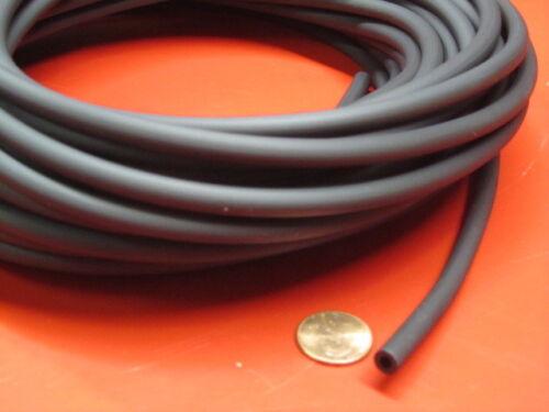 "Santoprene TPE Tubing Shore 64A Black 1//4/"" OD x 1//8/"" ID x 50 Ft Length"