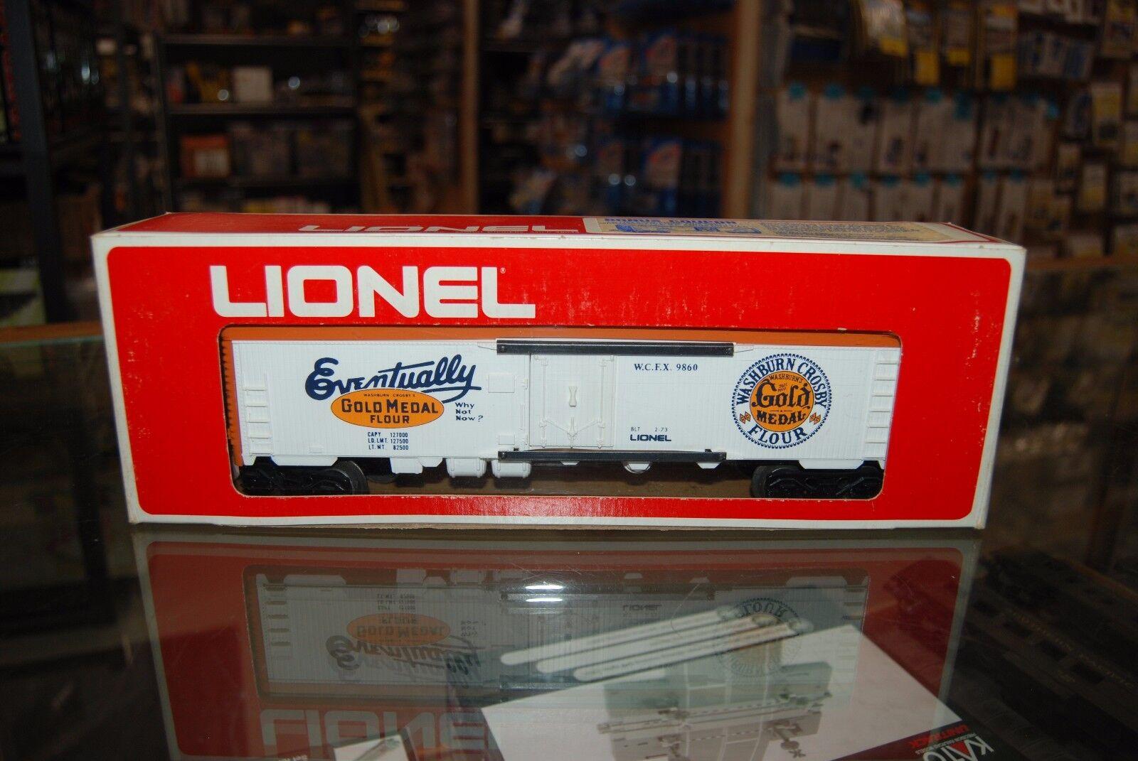 O Lionel 6-9860  gold Medal Billboard Reefer, Nice w Box