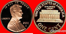 2005 S Lincoln Cent Deep Cameo Gem Proof No Reserve