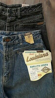 Edwin Louisiana Jeans Hose Karotte 80er Legendär 31//32 W31 L32 unisex Hellblau