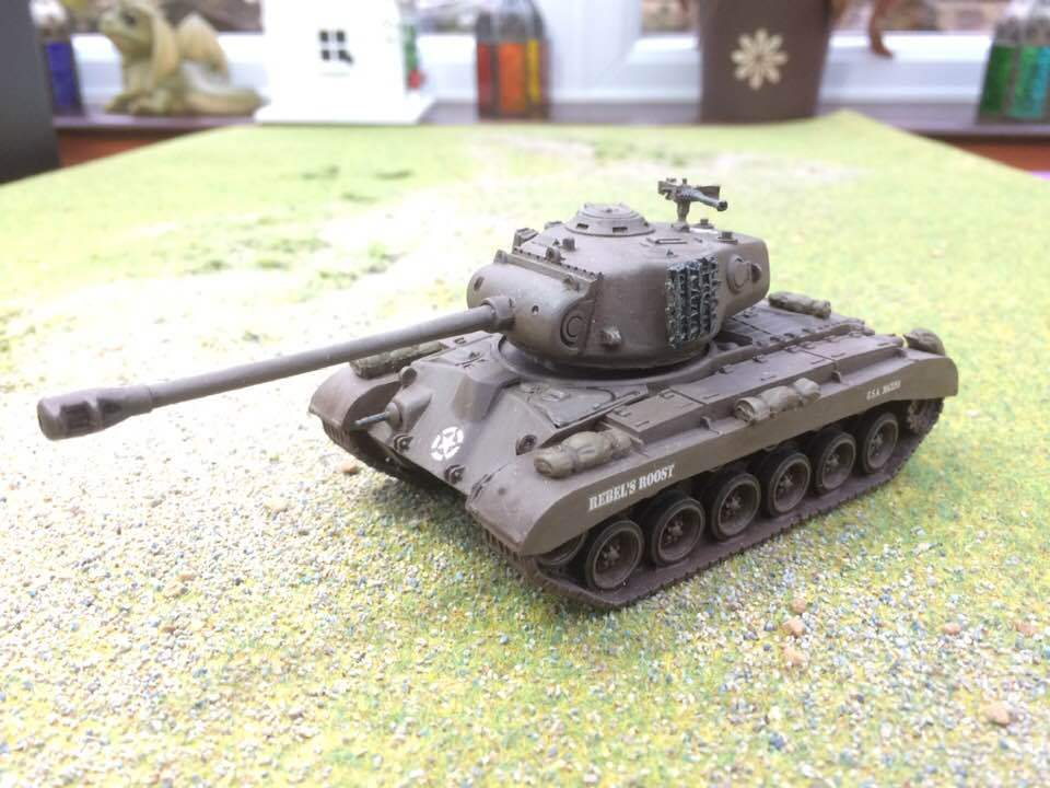 Warlord Bolt Action Pro Painted to order USA M26 Pershing heavy tank
