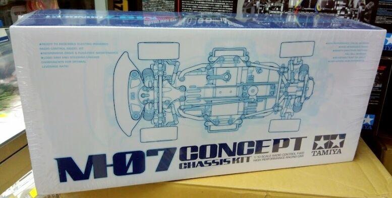TAMIYA  58647 Radio Control M-07 concepto Chasis Kit-M-07 Nuevo En Caja