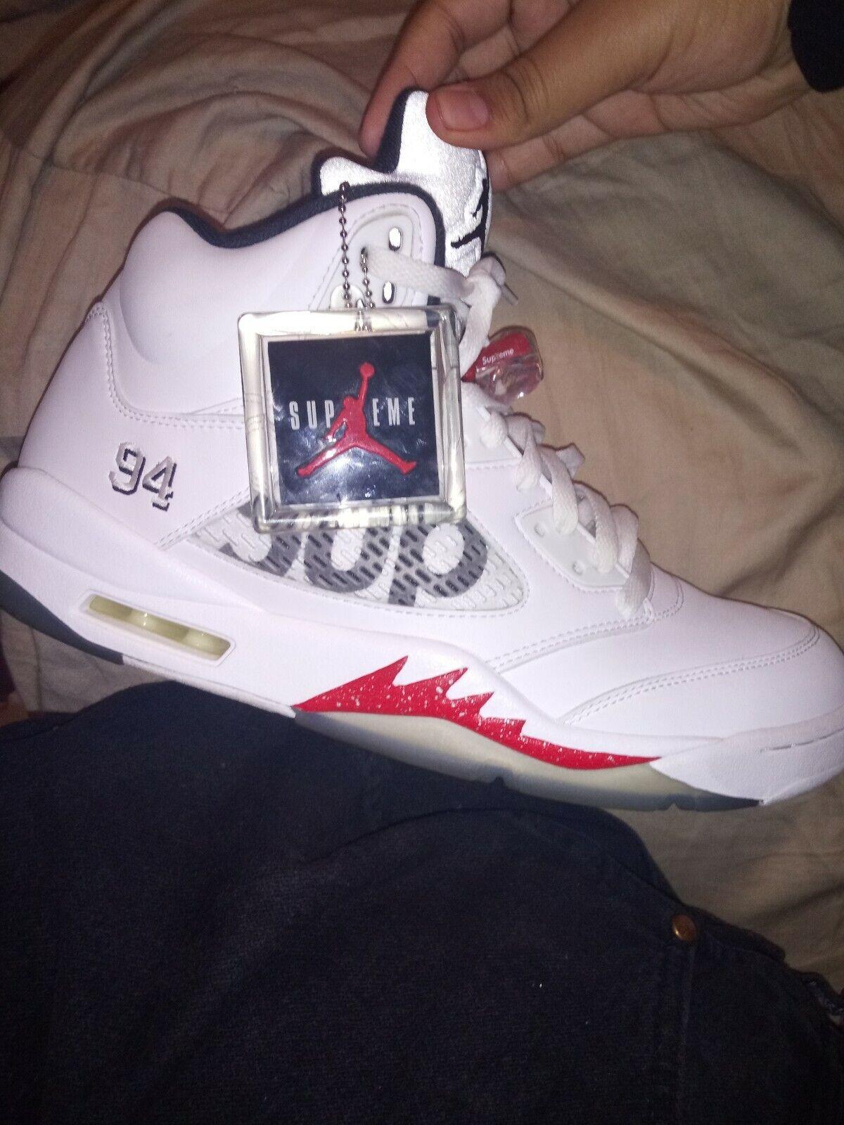 Air Jordan 5 Supreme White